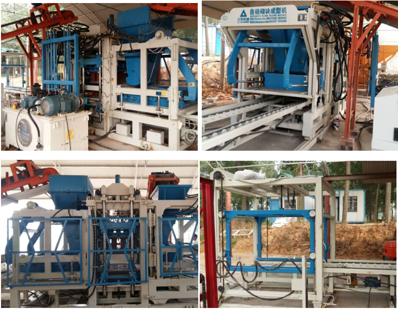 QFT8-15 Block Machine