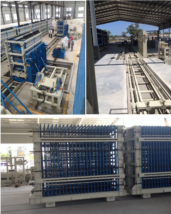 vertical wall panel machine