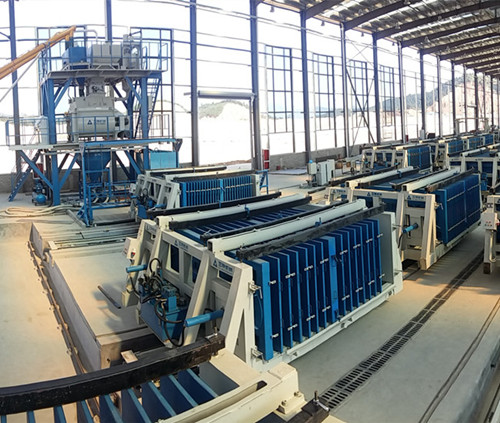 New Horizontal Wall Panel Machine