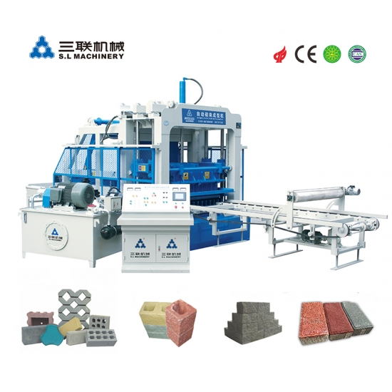 Color Permeable Brick Machine